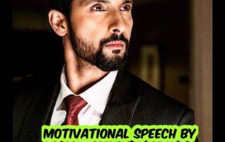 Motivational speech by Ravi Dubey