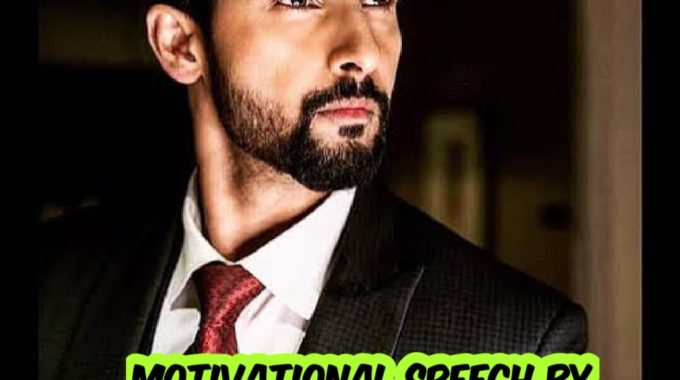 Motivational speech by Ravi Dubey