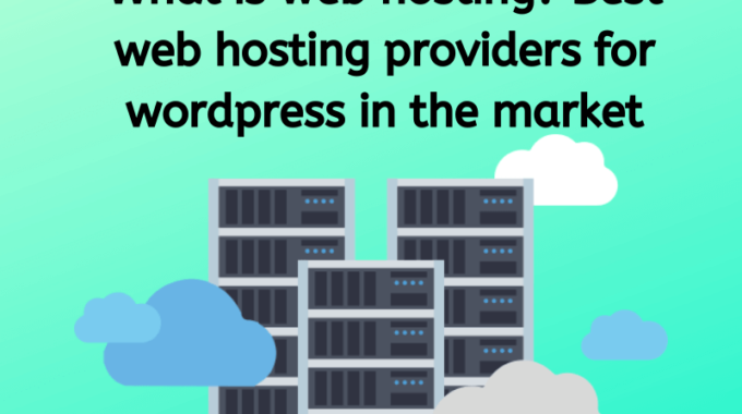 What is web hosting? Best web hosting providers for WordPress in the market